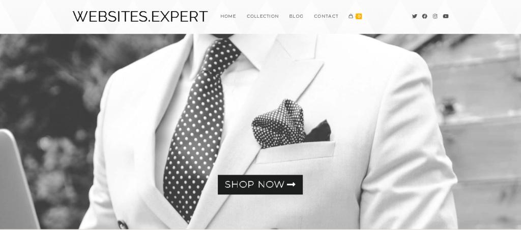 Websites Expert Demo3 landing page